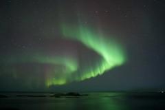Andenes, Norway (martin.bratland) Tags: auroraborealis northernlights lofoten norway winter autumn sea ocean reflection night stars mirror