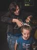 coupe de cheveux (FOTOPONK) Tags: fillette cheveux coupe cut hair crazy folie coiffeur coiffure