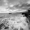 The Tempest (R. Alan Jones ~ www.quarryscapes.co.uk) Tags: trefor granite quarry jetty demolition october 2017