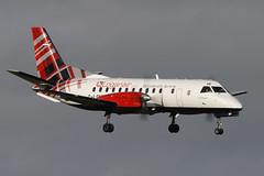 Saab SF340B G-LGNF Loganair (Mark McEwan) Tags: saab saabscania saab340 sf340 sf340b glgnf loganair aviation aircraft airplane airliner edi edinburghairport edinburgh scotland tartan