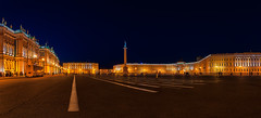 Plaza del Palacio (pajavi69) Tags: roja nocturna atardecer luces hora azul arquitectura colores iluminación nikon 1224 urbana night sunset lights blue hour architecture colors lightingurban d7100 noche anochecer rusia san petersburgoç2 urban lighting ciudad edificio panorama panoramic panorámica