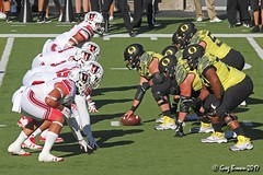 The trenches (C.P. Kirkie) Tags: universityoforegon oregon oregonducks duckfootball ducks autzenstadium utahutes utah football collegefootball