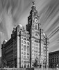 Liver Building Liverpool_A250173 (Jonathan Irwin Photography) Tags: liver building birds liverpool waterfront black white long exposure
