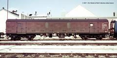 c.1969 - Swindon, Wiltshire. (53A Models) Tags: britishrail mk1 prototype guv w86500 parcelsvan npcs swindon wiltshire train railway locomotive railroad