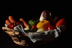 DSC_1925_3953 - Autumn basket - Cestino autunnale - (angelo appoloni) Tags: autunno cestino di verdure natura morta autumn basket vegetables still life