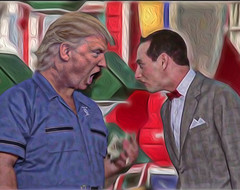 I Know You Are but What Am I?! (Bill Sargent) Tags: trump anger argument childish peeweeherman