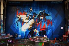 King Raptuz (HBA_JIJO) Tags: streetart urban graffiti art france artist hbajijo wall mur painting aerosol peinture murale spray bombing urbain cheval napoléon paris rap raptuz king