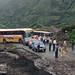 Baños to Ambato road blocked