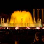 Magic fountain Barcelona