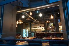 _DSC2151 (fdpdesign) Tags: pizzamaria pizzeria genova viacecchi foce italia italy design nikon d800 d200 furniture shopdesign industrial lampade arredo arredamento legno ferro abete tavoli sedie locali
