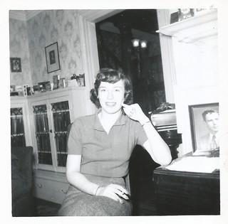 Nancy, Christmas 1956