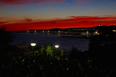 Sitges sunset (ole_G) Tags: sitges spain scenic colorful