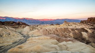 Sunrise at the Death Valley