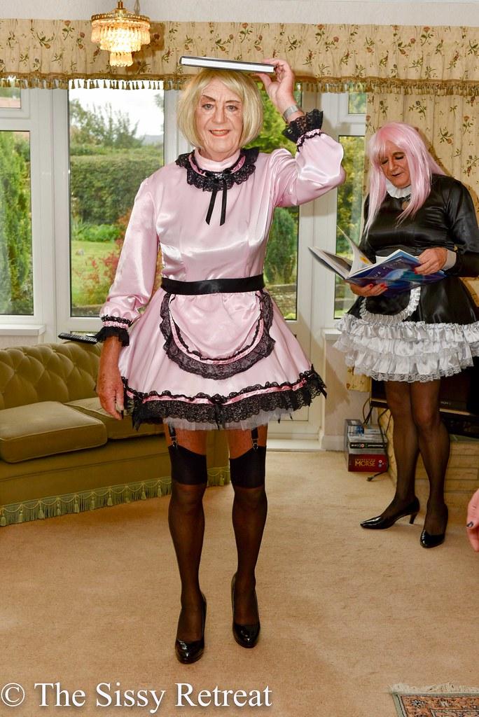 Bbw sissy maid