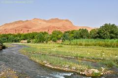 M'Goun Valley (simone_a13) Tags: morocco maroc river landscape rural atlasmountains mgounvalley berber