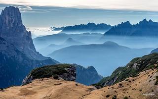 Dolomiti - Piani di Cengia e valle di Auronzo