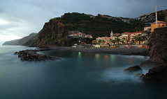 Ponta do Sol (RicardoPestana2012) Tags: bluehour longexposure pontadosol madeira madeiraisland seascape sea cliff water