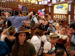 034 Jen (Jeanz - Global at Heart) Tags: beer bier oktoberfest octoberfest munich munchen germany beerhall bierzelt festzelt lowenbrau deutschland