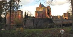 no fishing (bugman11) Tags: ruine ruinevanbrederode santpoort thenetherlands nederland building castle nikon landscape