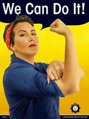 Pin Up Girl Poster (Carlos Maduro V.) Tags: pinup fashion makeup haircut barranquilla bogota colombia poster photoshop freelance ipet graphic design composition carlosmadurov geailustra girlpower ww2 photo photography foto fotografía