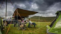 scotland-2016-#023 (Eugeniusz71) Tags: vango kalu400 mitsubishi sky carmont camp campsite sligachan camping isleofskye isle skye scotland rhinorack pajero pajerosport challenger tent awning sunseeker