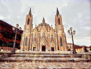 Basilica dell'Addolorata Castelpetroso (is) Molise Italy