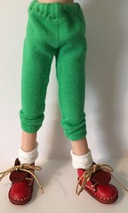 Leaf Green Leggings...For Blythe...