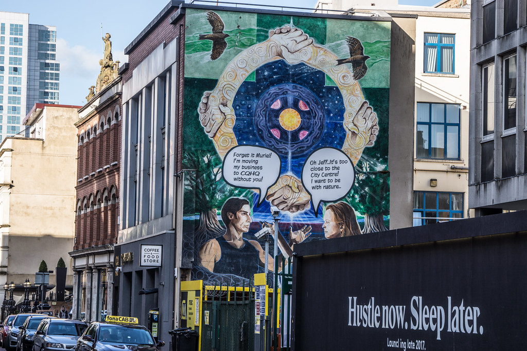 EXAMPLES OF URBAN CULTURE IN BELFAST [STREET ART AND GRAFFITI]-132956