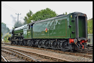 No 60103 Flying Scotsman 23rd Sept 2017 Barrow Hill Roundhouse Grand Reopening Gala