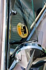Floor shift (GmanViz) Tags: gmanviz color car automobile vehicle detail 1966 dodge coronet 426 hemi vent window mirror decal hurst logo