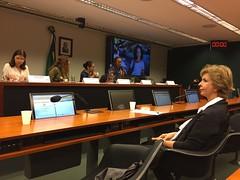 """11/10/17 - Audiência """"Proteger as meninas no presente para empoderar as mulheres do futuro"""" da CMULHER"""