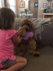 Kasey's Charlie with her best friend!