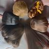 Hair Colour Comparisons (DeanReen) Tags: vintage mod barbie skipper francie fashion model doll mattel lhag ag bend leg bendable side part bubble cut long hair american girl straight swirl ponytail brunette brownette ash blonde titian red head redhead