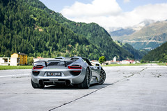 Ready for some Drag. (dutchwithacamera) Tags: porsche porsche918 porsche918spyder 918 918spyder carphotography car carphoto event ambri airport supercarownerscircle andermatt switzerland