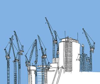 Building near Waterloo Station_London_August 2017