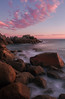 Petrel Cove - The Bluff (Trace Connolly Photography) Tags: australia natur natura natural nature naturaleza naturephotography colour color colourful outdoor outdoors outside eos canon sunlight exposure flickr landscape seascape ocean beach sea seaside earth environment environmental environmentalphotography sand water rock rocks sunset sunrise contrast red green yellow blue black white orange purple pink