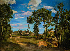 Frederic Bazille - Landscape on the Banks of the Lez, 1870 (Minneapolis Institute of Arts Minneapolis MN) at Frederic Bazille and the Birth of Impressionism exhibit at National Gallery of Art Washington DC (mbell1975) Tags: washington districtofcolumbia unitedstates us frederic bazille landscape banks lez 1870 minneapolis institute arts mn birth impressionism exhibit national gallery art dc museum museo musée musee muzeum museu musum müze museet finearts fine gallerie beauxarts beaux galleria french painting impression impressionist