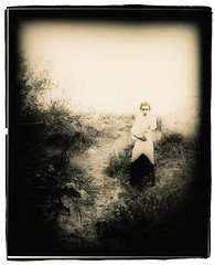 Ariel the Ghost (Jason Andrescavage) Tags: largeformat large format paper negative sepia model darkroom 8x10 ilford silver slowimpressions sanfrancisco