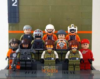 SHIPtember 2017: The Basilisk crew