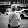 a moment (gguillaumee) Tags: sharp film analog grain rolleiflex square mediumformat fujineopanacros 100iso street streetphotography woman rückenfigur montreal mtl candid anonymous lady quebec bw blackandwhite