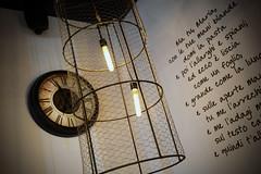 DSC_2384 (fdpdesign) Tags: pizzamaria pizzeria genova viacecchi foce italia italy design nikon d800 d200 furniture shopdesign industrial lampade arredo arredamento legno ferro abete tavoli sedie locali