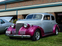 1939 Chevrolet Two Door Sedan (J Wells S) Tags: streetrod hotrod 2doorsedan chevy villagegreencarshow fairfield cincinnati ohio 1939chevrolet