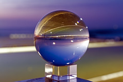 On the Glass (Sterling67) Tags: predawn glass ball merewether oceanbaths 2470 7d