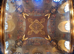 Paris (mademoisellelapiquante) Tags: museedulouvre louvre arthistory art paris france architecture ceiling