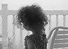 curls (albyn.davis) Tags: weather rain water people child girl vacation window chair blackandwhite