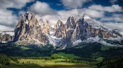 A Fairy Tale Come True (hpd-fotografy) Tags: alpenglow alpes dolomites grohmannspitze langkofel plattkofel seiseralm fairytale landscape light mountain nature outdoor
