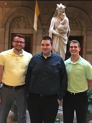 Erie seminarians at St. Mary's Seminary, Baltimore, MD – September 2017