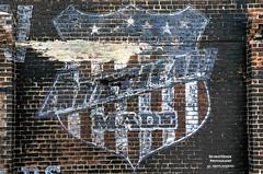 We The People (DetroitDerek Photography ( ALL RIGHTS RESERVED )) Tags: allrightsreserved 313 detroit motown pride americanmade local independent business shop midwest usa america faded sign painted ad advertisement ghostsign michigan detroitderek october 2017 red brick aged weathered motorcity canon 5d mkii digital eos