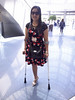 amp-1469 (vsmrn) Tags: amputee woman crutches onelegged
