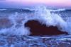 Splash [Nikon F5 Film] (Aviator195) Tags: film filmphotography fuji fujichrome fujifilm provia provia100f fujiprovia nikon nikonf5 f5 epson epsonperfection epsonv550 filmisnotdead nikonfilm australia istillshootfilm mona vale monavale monavalebeach beach northern beaches sydney northernbeaches pittwater water reflection sunset dusk evening spring waterscape beachscape seascape